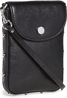Rebecca Minkoff Women's Envelope Phone Crossbody Bag, Black, One Size