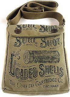 American Glory Unisex Vintage Look Canvas Sure Shot Crossbody Handbag