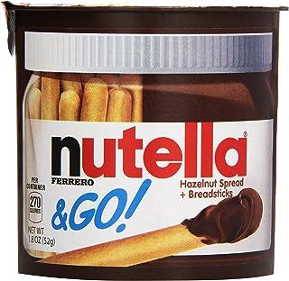 Nutella & Go Hazelnut Spread & Malted Bread Sticks, 52 Grams