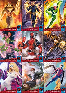 X-MEN 2018 FLEER ULTRA UPPER DECK PARTIAL BASE CARD SET 122/150 MARVEL