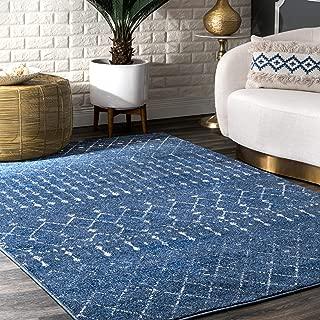 nuLOOM Moroccan Blythe Area Rug, 8' x 10', Dark Blue