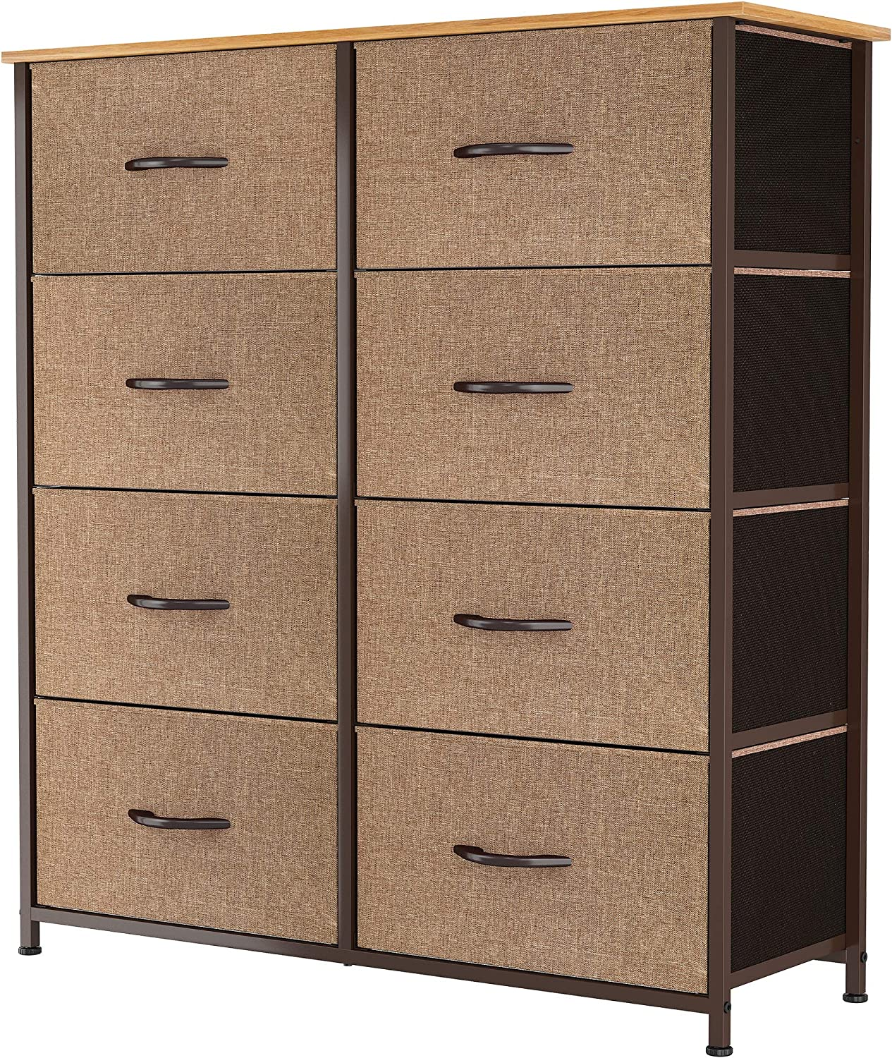 YITAHOME Vertical 5% OFF Dresser with Luxury goods 8 Drawers Furniture Draw Storage