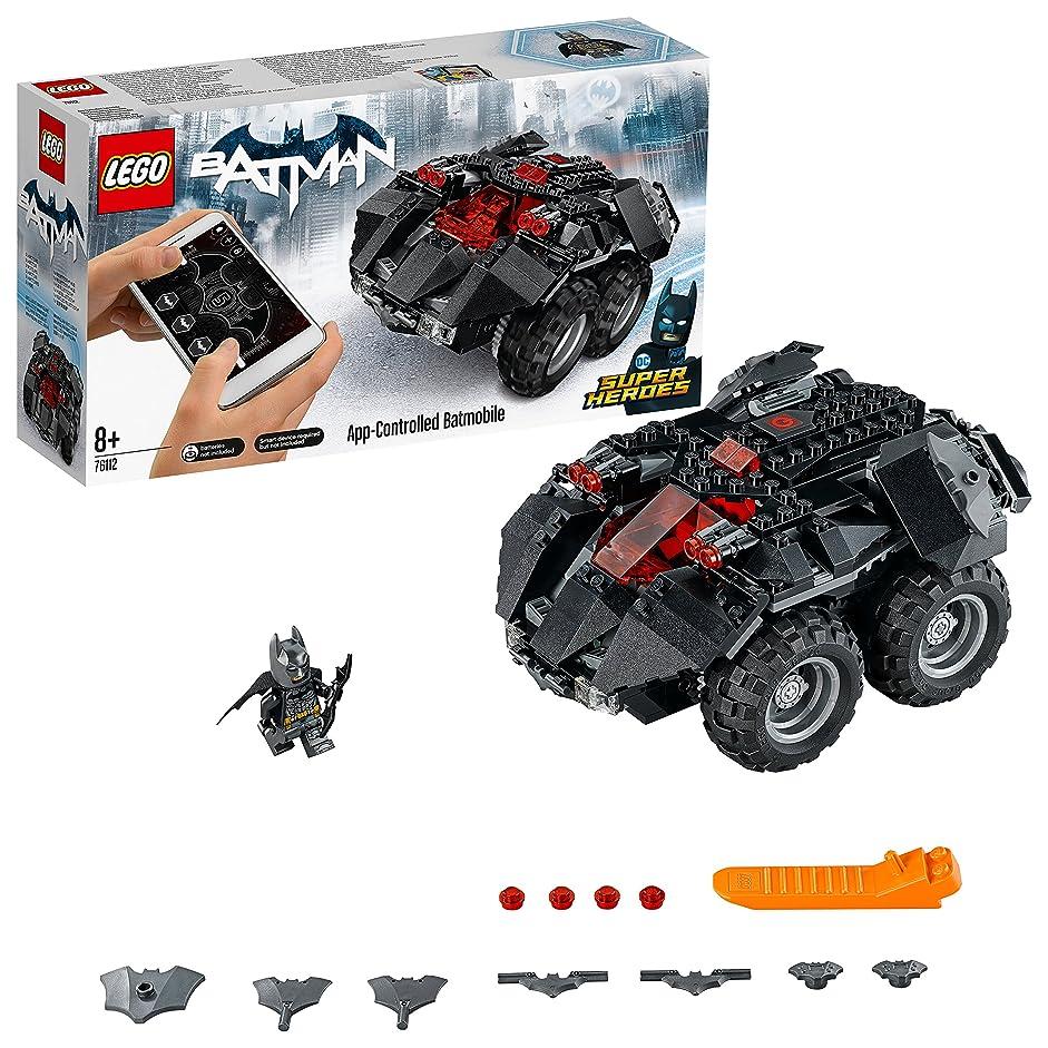 幹位置づける吐き出すレゴ(LEGO)スーパー?ヒーローズ アプリ操作バットモービル 76112