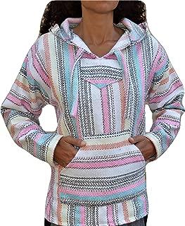 Galaxy Reborn Baja Hoodie Pink Fiesta Mexican Drug Rug Pullover Poncho Sweatshirt