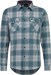 سه پیراهن شصت و شش فلانل مردانه - پیراهن کار فلانل خشک و متناسب مردانه