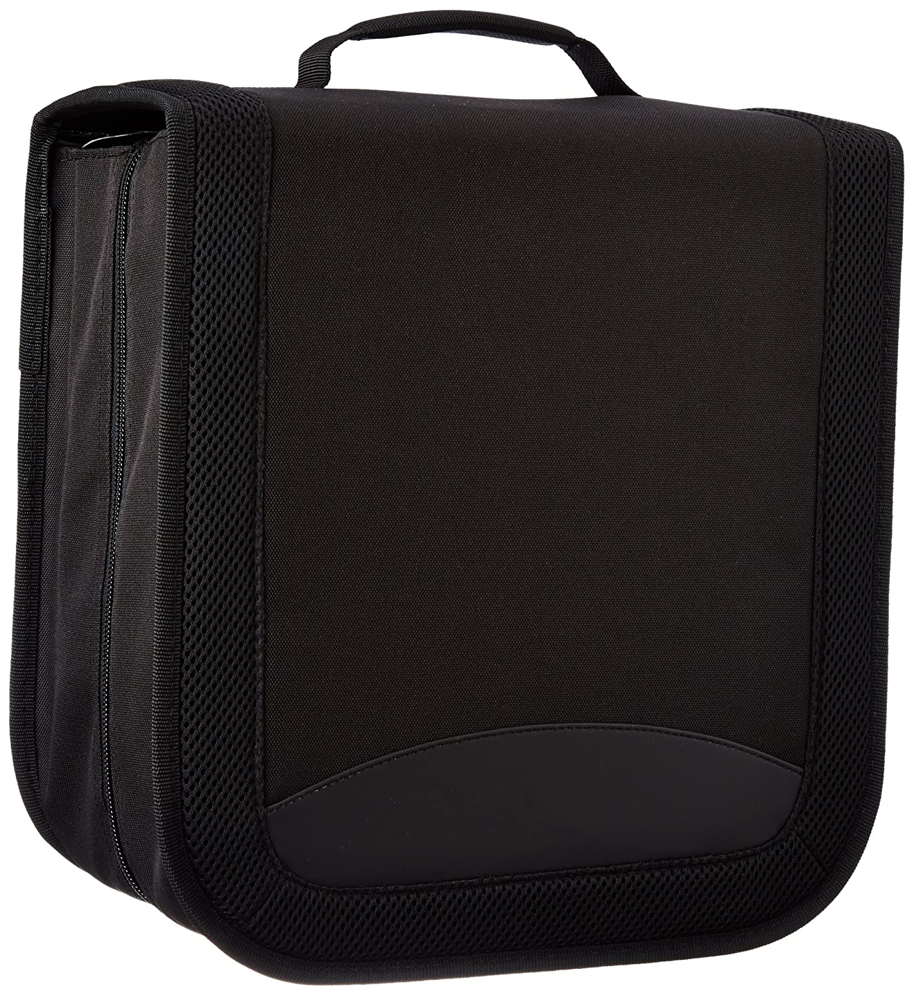 AmazonBasics Nylon CD/DVD Binder Case (400 Disc Holder Storage Capacity)