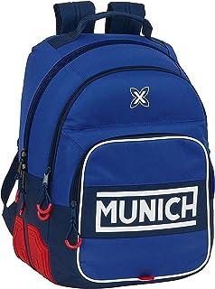 612074773 Mochila Escolar de Munich Retro, 320x150x420mm