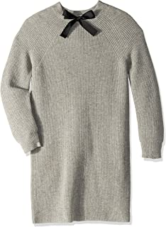 J.Crew Mercantile Women's Long Sleeve Sweater Dress with Bow Neck Detail