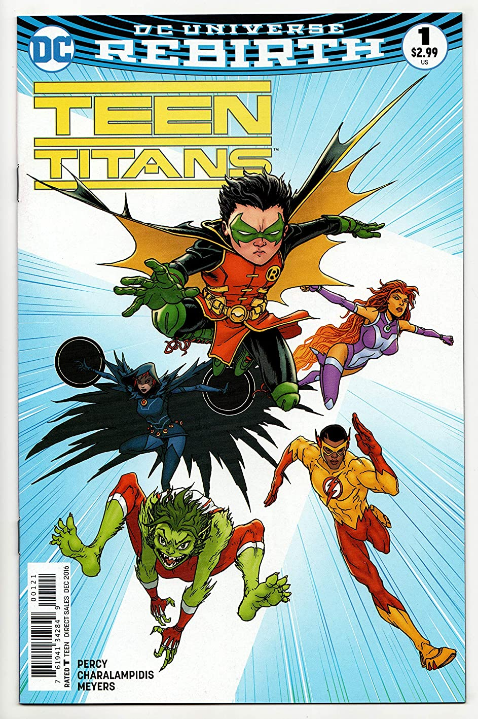 Teen Titans #1 Rebirth Variant Cvr (DC, 2016) NM bsnzhsblzcp874
