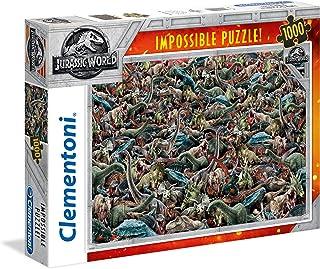 Clementoni Jurassic World 1000 Piece Impossible Puzzle