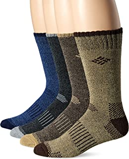 Moisture Control Crew Sock 4 Pack, Multipack