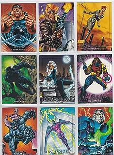 1992 Marvel Masterpieces Series I Base Set of 100 Cards NM/M Joe Jusko Art, Spider-Man