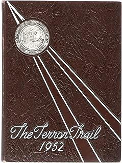 1952 Terror Trail Colorado Springs High School Colorado Yearbook
