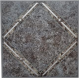 Achim Home Furnishings FTVGM33420 Nexus Self Adhesive Vinyl Floor Tiles, Metallic Marble Diamond, 12 x 12-Inch, 20-Pack, Megallic
