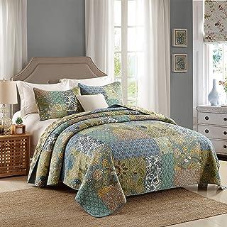 XL Marineblau 100/% Cotton Sofa//Bett Überwurf 260x260