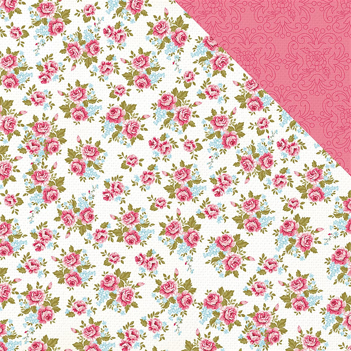 Kaisercraft Sewn Miss Betty Double-Sided Cardstock 12