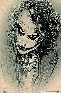 "Trends International The Dark Knight Sketch Wall Poster 22.375"" x 34"""