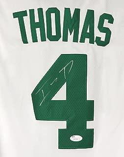 Isaiah Thomas Boston Celtics Signed Autographed White #4 Jersey JSA COA