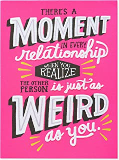 American Greetings Funny Romantic Valentine's Day Card (Just as Weird)