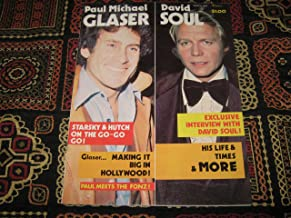 Paul Michael Glaser & David Soul Magazine (Starsky & Hutch on the Go-Go-Go ! , Paul meets The Fonz !, March 1977)