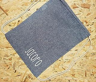 Sacca zaino in cotone personalizzabile