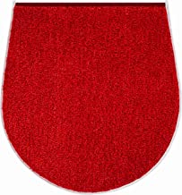 Grund Bath Mat, Ultra Soft and Absorbent, Anti Slip, 5 Years Warranty, Room, Toilet Seat Cover 47x50 cm, Ruby