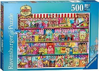 Ravensburger The Sweet Shop Puzzle 500pc,Adult Puzzles