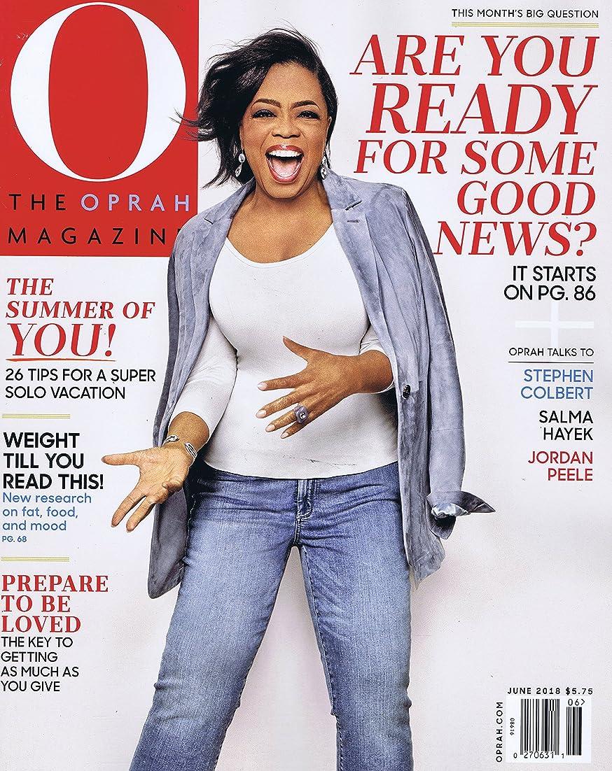 メロドラマコントロール好意O, The Oprah Magazine [US] June 2018 (単号)