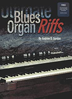 Ultimate Blues Organ Riffs Book/downloadable audio files