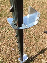 Fence Bracket - Buy Easy-to-Hang fence bracket. Use on Metal T-Posts for Easy, Cheaper Alternative.