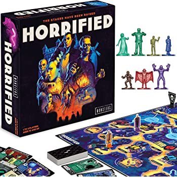 Ravensburger 26827 Horrified: Universal Monsters Strategy Game for Kids & Adults Age 10 Years and Up-The Stakes Have be Raised
