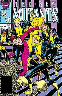 New Mutants (1983-1991) #43