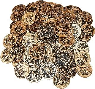 SNInc. Gold Pirate Treasure Coins 144 Pcs.