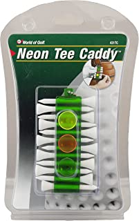 JEF WORLD OF GOLF Gifts and Gallery, Inc. Tee Caddy (Green)