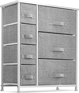 7 Drawers Dresser - Furniture Storage Tower Unit for...