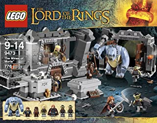 lego lord of the rings cave troll set