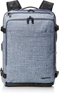 AmazonBasics Slim Carry On Travel Backpack, Denim - Weekender