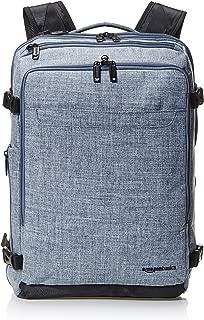 AmazonBasics Slim Carry On Travel Backpack - Denim