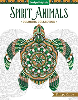 Spirit Animals Coloring Collection (Filippo Cardu Coloring Collection) (Design Originals)