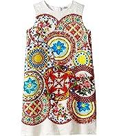 Dolce & Gabbana Kids - Mambo Brocade Dress (Big Kids)