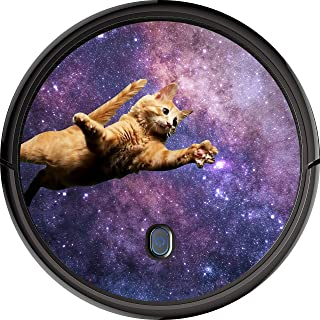 Cat Galaxy Decal Skin for Roomba Vaccuum (Eufy 30/11s, Print)