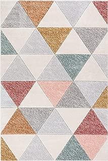 3d ombre squares rug