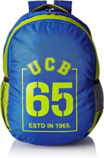 United Colors of Benetton 34 Ltrs Blue School Backpack (0IP6SCHBPBL2I)
