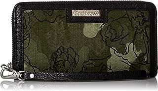 Women's Floral Camo Zip Clutch