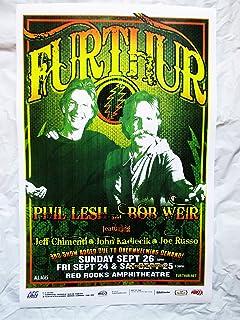 2010 Bob Weir Phil Lesh Furthur Concert Poster Red Rocks