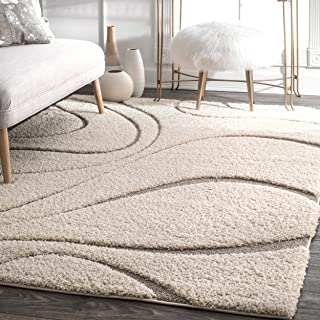 nuLOOM Carolyn Cozy Soft & Plush Shag Rug, 7' 10