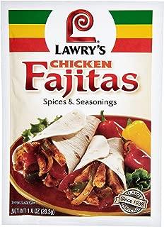 Lawry's Chicken Fajitas Spices & Seasonings, 1 Ounce