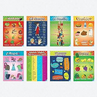 Poster Educacional Preescolar para Infantes y Niños - Perfecto Para Escuelas & Salones de Kinder Enseña