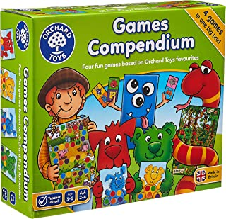 Orchard Toys Games Compendium 4 Games in 1 Box