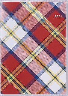 高橋 手帳 2021年 4月始まり B6 マンスリー クレール インデックス 5 チェック No.690